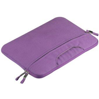 13\ Canvas Hand Carrying Case Laptop Bag for Macbook Pro 13 inch(Purple)