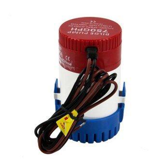 12V Submersible Electric Fishing Boat/Marine Bilge Water Pump 750/1100 GPH
