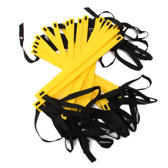 8M 21-rung Agility Ladder for Speed Soccer Football Fitness Feet Training Yellow
