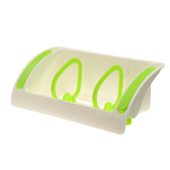 10Pcs Strong Suction Cup Kitchen Brush Sponge Sink Draining Towel Rack Washing Holder