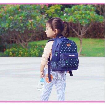 2-7 Years Preschool Kids Little Girls School Backpacks Kindergarten Children Girls School Bags  dark blue