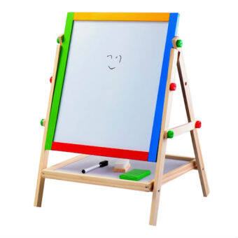2 in 1 Easel Wooden White and Black Board