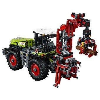 [International Shipping]LEGO Technic 42054 CLAAS XERION 5000 TRAC VC Building Kit (1977 Piece)()