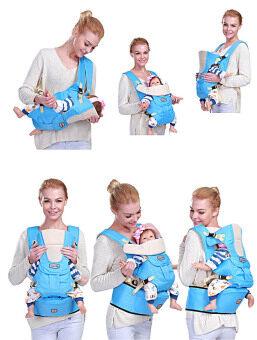 0-36m InfantToddler Ergonomic Baby Carrier Sling Backpack Bag Gear with Hipseat Wrap Newborn Cover Coat for Babies Stroller