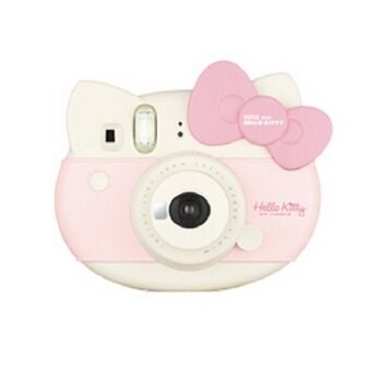 (Special Edition Set) Fujifilm Instax Mini 8 Hello Kitty Instant Camera + Strap + Sticker + Limited Edition Kitty Film + Close Up Lens