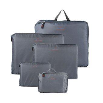 5 in 1 Travel Organizer Bags - Grey