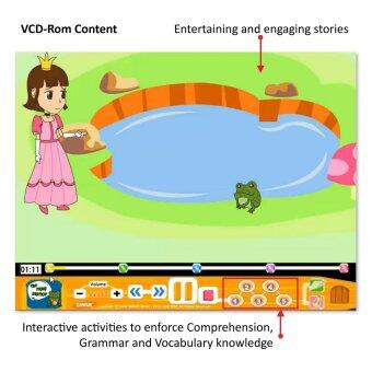 Stories Network: Kids story books & VCD-Rom (5-9 yrs old)
