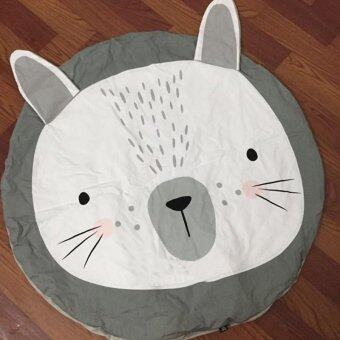 2016 Cute Baby Play Mat Bunny Bear Rug Cart Cover Air Conditioning Rabbit Blanket Children's Room Decoration Muslin Swaddle