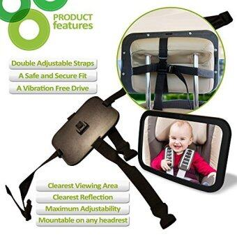 [International Shipping]Baby Car Mirror - Back Seat Rear-facing Infant In Sight - LIFETIME SATISFACTION GUARANTEE - Crash Tested - + FREE GIFTS()