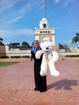 1.2 Meter White Giant Teddy Bear