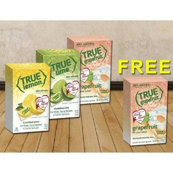 [Buy 1 FREE 1] [Hat Trick Deal] True Lemon + True Lime + True Grapefruit [Limited Time Offer](Free Grapefruit)