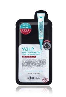 (10 Pcs) Mediheal Beauty Clinic W.H.P Whiten Hydrating Charcoal Mask