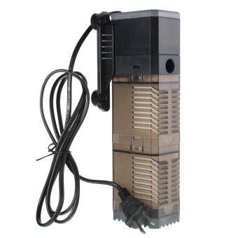 [600L/H] Internal Filter Pump 3 in 1 Submersible Fish Tank Aquarium Oxygen Pump