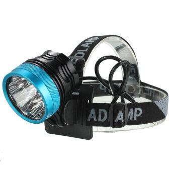 10000Lm 7xCREE XM-L2 T6 LED Cycling Bike Bicycle Light Headlamp Headlight Set