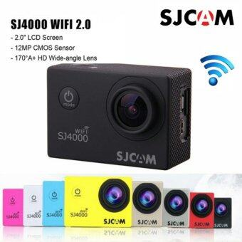 (GENUINE) 2016 EDITION SJCAM SJ4000 WiFi 2.0\ INCH SCREEN 1080P Full HD Sport Action Camera NOVATEK NTK96655 - BLACK