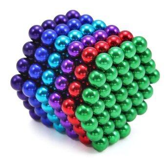 216pcs 5mm Colorful Magic Magnet Magnetic DIY Balls Puzzle Toy