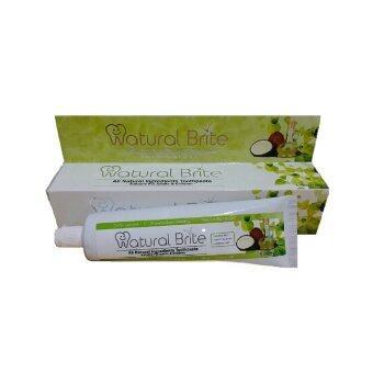 100% Natural Virgin Coconut Oil Toothpaste - 4 Packs