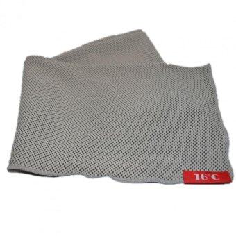 Twin Pack: 16C Is-Cool Sports Leisure Activity Canadian Fabric Golf Towel Grey Colour