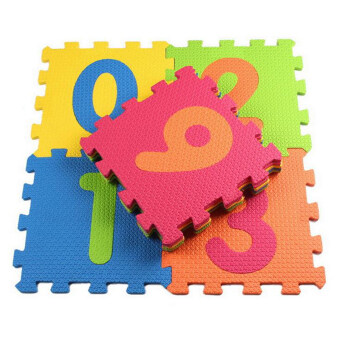 10pcs/set Puzzle Carpet Baby Play Mat Floor Puzzle Mat EVA Children's Foam Carpet Mosaic floor Developing Crawling Rugs