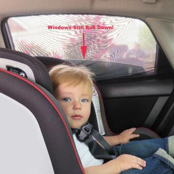 (Pack of 2)ShadeSox Car Side Window Sun Shade