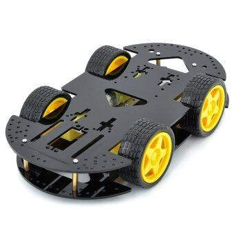 16-in-1 Smart Car Chassis Kit for Arduino (Works with Official Arduino Boards)