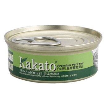 24 cans Kakato Tuna Mousse Canned Food for Cats and Dogs(40gm)