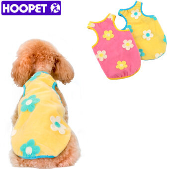 2 Pcs Pet Supplies Clothes Summer Flower Breathable Organza Dog Vest