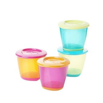 [Best Price Of 2] Tommee Tippee Pop Up Weaning Pot (Random Color) 446502/38 + Explora Cool And Mash (Random Color) 446702/38