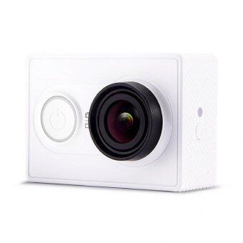(Genuine) XiaoMi XiaoYi Yi Sports Action Camera Full HD Video Recorder Camera (WHITE) + Kingma Waterproof Case + Samsung Evo 16GB Class 10 + Bobber + Transparent Hard Case + Monopod Bundle