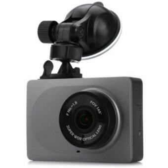 (Genuine) Xiaomi XiaoYi Yi Car Dashcam 1080P FHD 60fps Car WiFi DVR 2.7\ Screen with ADAS & Lane Departure Warning System - GREY