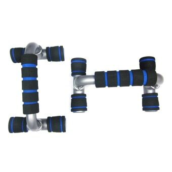 1 Pair of H-Type Power Push-up Bars Push Up Stand Frame Handle for Strength Training