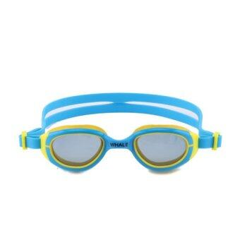 2016 New whale Brand Children Kids permanent anti-fog Diving Swimming Goggles