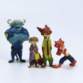 12 Styles Zootopia Figure Toys Rabbit Judy Hopps Fox Nick Wilde Sloth Flash Movie Zootropolis Zootopia Figure Toy Gift