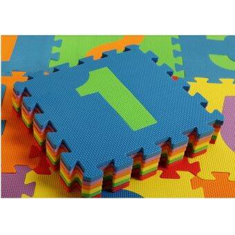 10pcs Set Puzzle Baby Play Mat floor EVA Foam for Children 30*30cm Number