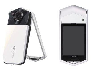 Casio EXILIM EX-TR70 Digital Camera (White)