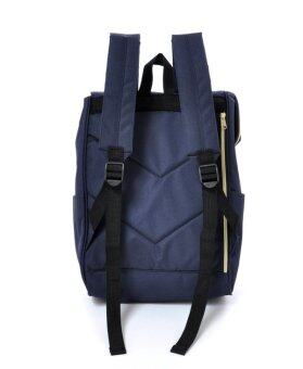 838bd99b62 ANELLO JAPAN Canvas Flap Cover Rucksack Backpack (NAVY)