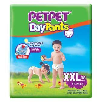 [Mega Sales Deal~2FOC1] PETPET DayPants Diaper Mega Packs XXL48 (3packs)