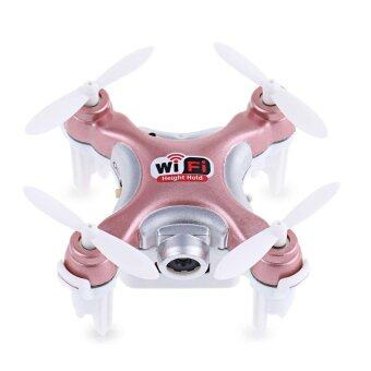 Cheerson CX-10WD-TX Wifi RC Mini Hexacopter With 4CH 6-Axis 0.3MP Camera (Rose Gold)