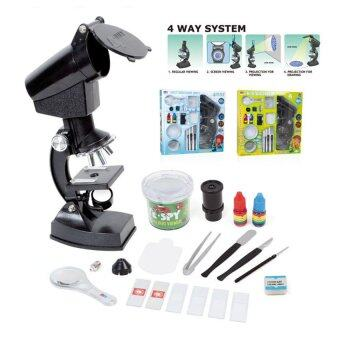2016 New 1200X Microscope Perfect Educational Toy with Projector Students Science Biological Instrument Microscope Set