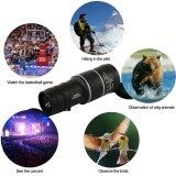 16x52 Waterproof Night Vision Optics Zoom Lens Monocular Telescope for Camping Hiking Hunting