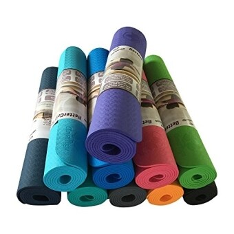 Clever Yoga Premium Mat BetterGrip Eco-Friendly With The Best Recyclable Non-Slip and