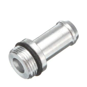0.5L Barb Oil Catch Tank Can Reservoir Breather Filter Alloy Car Racing Engine mhestore2009 Silver NEW