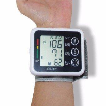 1Pcs Wrist Wearable Blood Pressure Tester Health Care Automatic Wrist Digital Blood Pressure Monitor Measuring Pulse