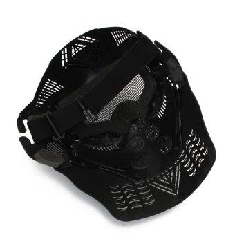 2 X Paintball Airsoft Game Tactical Full Half Face Protection Safety Mask Guard