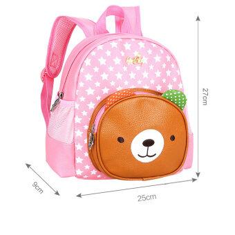 2-6 Year Kids Cartoon Backpack Kindergarten Toddler Girls School Bag Rucksack Child Preschool Satchel Bookbag  Pink