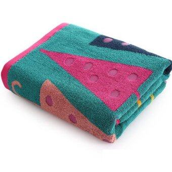 100% Cotton Super Absorbent Bath Towel Adult & Children Bath Towel Increase Size Increasing Thickness