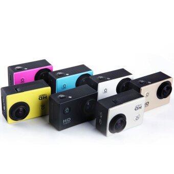 SJ4000 Sport Action Camera Full HD 1080P Waterproof Camcorders (Silver) - Intl