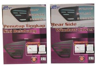 (Malaysia) Rear Triangle Side Window Mirror Cover 2 Piece - Perodua Alza