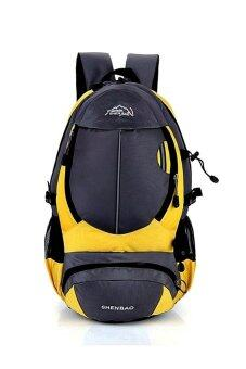 077f6a8155 EcoSport 35L Waterproof Outdoor Hiking Backpack (Yellow)