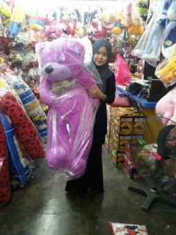 1.2 Meter Purple Teddy Bear